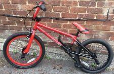 "DIAMONDBACK JOKER 20"" RED/BLACK BMX BIKE WITH 2 STUNT PEGS *Excellent Condition*"