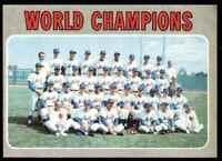 1970 Topps Set Break Nm Mt Team New York Mets #1