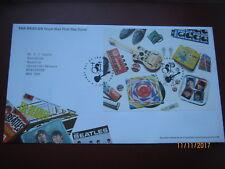 Reino Unido 2007 The Beatles Royal Mail Liverpool cubierta de sellos de Primer Día