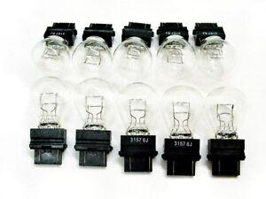 10x Pontiac 3157 12v Brake Tail Light Turn Signal Bulbs Stop Lamps NOS Quality