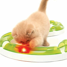 Cat Ball Toy Light Funny Kitten Activity Game Fireball Globe Pet Senses Circuit