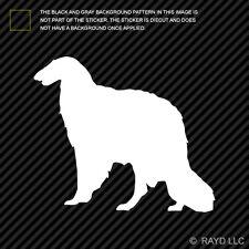 (2x) Borzoi Sticker Die Cut Decal Self Adhesive Vinyl dog canine pet