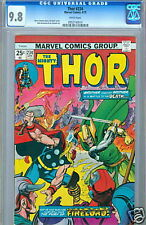 Thor #234 White Pages Highest CGC 9.8