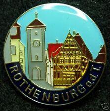 Rothenburg ob der Tauber new Hat Lapel Pin HP6058