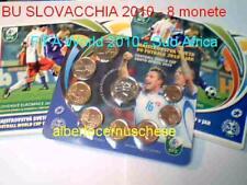 2010 8 monete 3,88 euro SLOVACCHIA Slovaquie Sud Africa FIFA Football Slovensko