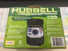 Hubbell Lighting Lvt56 12-Volt Led Landscape Transformer with Photo Control 56W