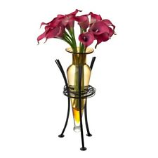 Danya B Amber Amphora Vase with Wire Stand - MC750-A