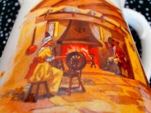 Vintage Falcon Ware Lawrence & Grundy L & G Pottery GOLD Jug Circa 1920-30