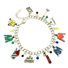 Heathers Fashion Novelty Charm Bracelet Broadway Musical Series with Gift Box