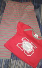 🏈🏈Baby Boy Clothes Sz 6-9 M Short Sleeve 2 piece Football Sports Outfit