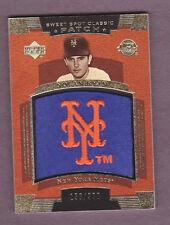 2004 Upper Deck Nolan Ryan Jersey Patch Card #156/300 Sweet Spot Classic