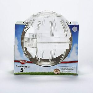 Kaytee Clear Mini Run-About Small Animal Exercise Ball 5""