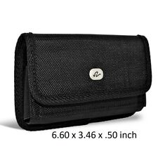 XL Size Horizontal Rugged Holster Carry Pouch Case For Motorola Moto G7 Power