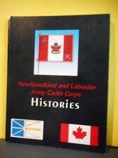 Newfoundland and Labrador Army Cadet Corps Histories