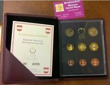 "Euro Coinset PROOF KMS SET Österreich 2002 PP   "" Eiamaya.com"