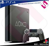DAYS OF PLAY PS4 1TB 2019 PLAYSTATION 4 EDICION LIMITADA VERSION CUH2216B OFERTA