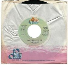 Chapter One I Want To Stay With You 45 EX+ 1976 Sweet Soul DJ 20th Century 2321