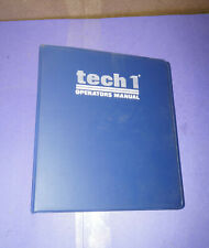 Vetronix GM Tech 1 Scanner OEM Operators Manual