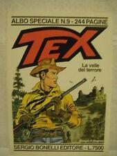 Tex La valle del terrore Texone N. 9 Disegni di Magnus Albo Speciale 1996 (CAN)