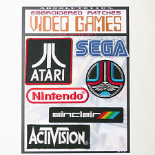VIDEO GAME CLASSIC ARCADE Patches - Iron-On Patch Mega Set #32 - FREE POST