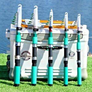 Mini Fishing Rod Pole Spinning Telescopic Hard Tackle Lure Freshwater Portable S
