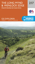 Long Mynd and Wenlock Edge 217 Explorer Map Ordnance Survey