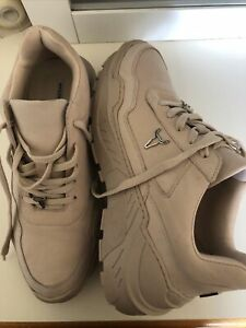 Windsor Smith Ladies Nude Sneaker Shoes Size 10 Leather