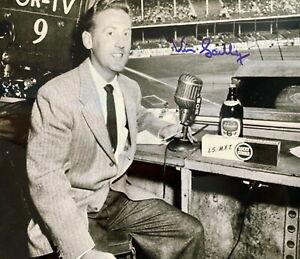 Vin Scully Autographed Signed 8x10 Photo HOF LA Dodgers Sportscaster REPRINT