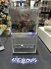 Pokemon Acrylic Booster Box Display Case ! Free Fast Shipping !