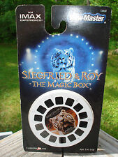 VIEW-MASTER 3-d Reels siegfried & roy the magic box  3 reels