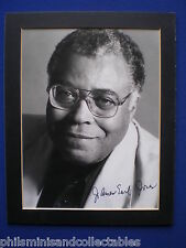 James Earl Jones - Actor - vintage hand signed MOUNTED publicity photo
