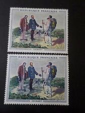 FRANCE 1962, timbre 1363, VARIETE COULEURS, TABLEAU COURBET, neufs** MNH STAMP