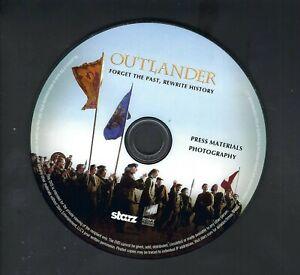 STARZ OUTLANDER PRESS KIT DVD FORGET THE PAST, REWRITE HISTORY