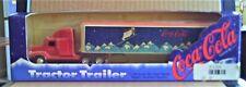1995 Coca-Cola Tractor Trailer 1/64 ERTL diecast, Brand New in Original Box