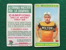 CAMPIONI DELLO SPORT 1967-68 n.221 BALMAMION CICLISMO Figurina Panini (NEW)