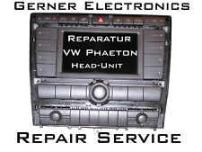 Reparatur VW Phaeton ZAB Radio Head-Unit 3D0 035 007 Navi - Repair Service