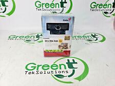 New Genius Widecam F100 1080P Ultra Wide Angle USB Webcam