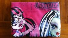 Monster High Black/Pink Girls Throw Rug BNWOT free post E21