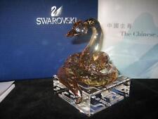 SWAROVSKI LTD 2013  CHINESE ZODIAC GOLDEN SNAKE- **RARE**-New in Box
