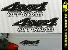 4x4 OFF ROAD 4WD decals car Stickers PAIR 200mm