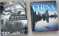 Lot 2 books on Shanghai China Chinese art history culture architecture religion