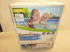 Intex 15ft x 33in Round Above Ground Swimming Pool with Pump