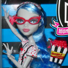 Barbie MONSTER HIGH Ghoulia Yelps DEAD TIRED Zombie Brain Food Popcorn 2010