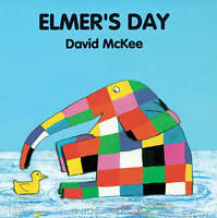 Elmer's Day by David McKee Board Book New