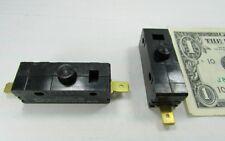Lot 5 Cherry E13 15A Normally Open Pushbutton Switches 125/250 VAC 0E1349EC New