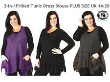 Hip Length Thin Tank Tops for Women