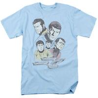 Star Trek Khan Distressed T-Shirt Sizes S-3X NEW