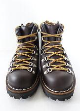 DANNER USA Men Mountain Light Retro Rugged Trek Dk Brown Leather Hiking Boots 7