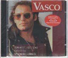 VASCO ROSSI PROMO TAKEDA VIOLA/GRANATA CD SIGILLATO !!!