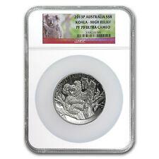 2013-P Australia 5 oz Silver Koala PF-70 NGC (High Relief) - SKU #83737